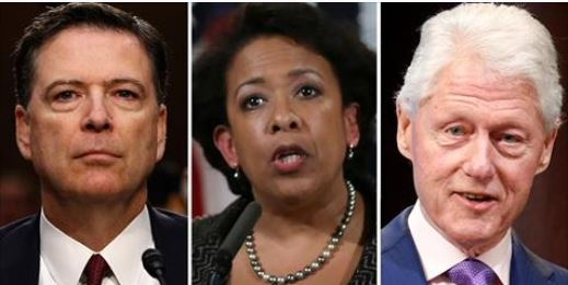 Comey: Lynch-Clinton Secret Tarmac Meeting Led Him To Re-Open Hillary Email Probe (Video)