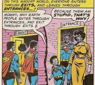 DC Bizarro Comic