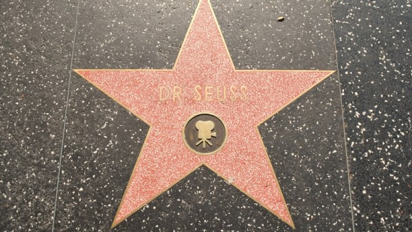 Dr. Seuss Hollywood Walk of Fame