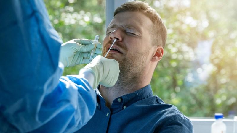 PCR Nasal Test