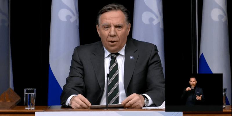 Quebec Premier François Legault