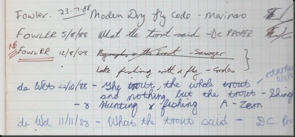 Toms old book register