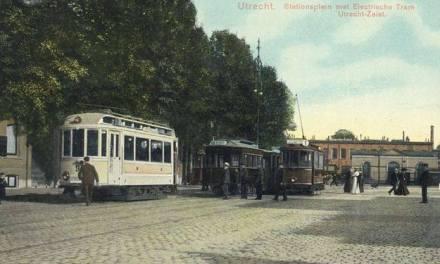 De tram Utrecht-zeist