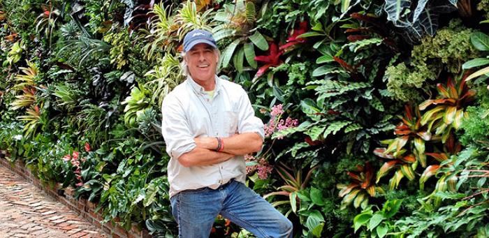 Biophilic Designer   Jeffrey Allis   Miami Florida   biophillia principles best green wall in Miami / Best Vertical garden in miami