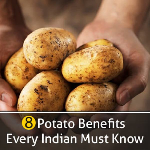 8 Potato Benefits: Every Indian Must Know