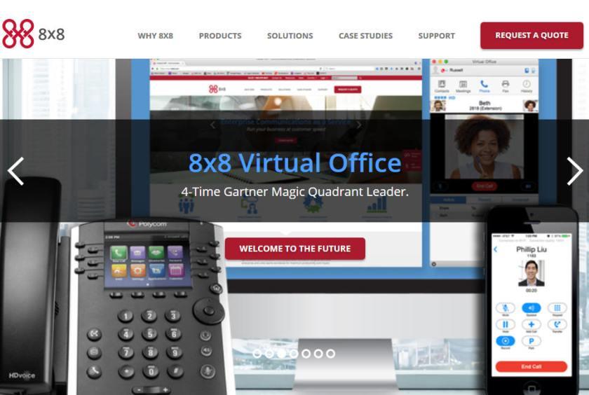 8x8 Services4 Business Class Voice Service