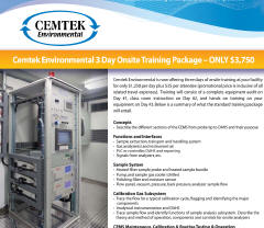 Cemtek Literature on 3-Day Training