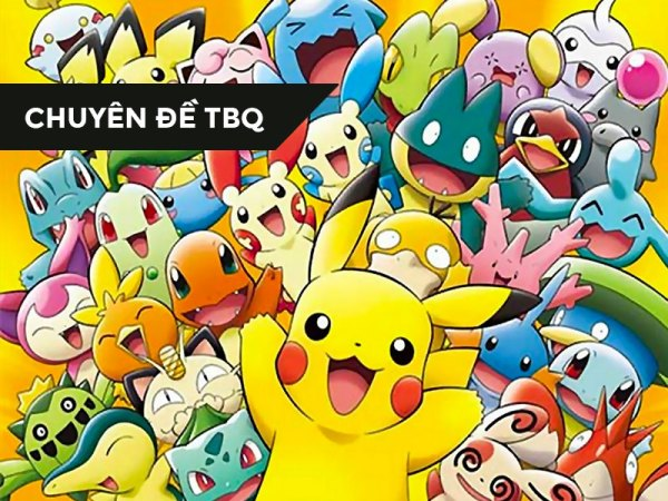 【CHUYÊN ĐỀ TBQ】Những Pokemon vẫn giữ nguyên tên trong bản Nhật và bản Anh (Gen 1)