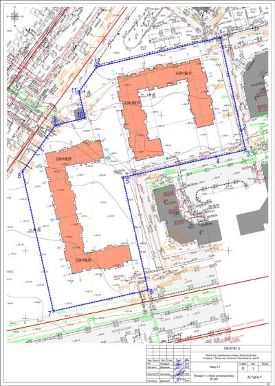 Новый, «неурезанный» проект реновационных домов. Они обозначены оранжевым цветом. Рядом сними серым цветом показаны уже жилые кооперативные дома. Легко сравнить масштабы. Иопять же, не забывать, что соседи будут на 2 (!) этажа выше. Мы так не договаривались!