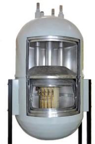 Сверхпроводящий магнит в разрезе