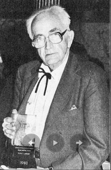 Фриц Лейбер - грандмастер фантастической литературы, 1980 год