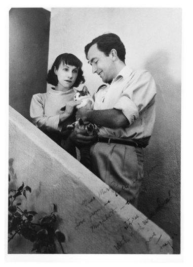 Фриц Лейбер с женой, 1937 год