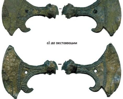 1. Топорик-амулет. пятницкий раскоп. Последняя треть XII века