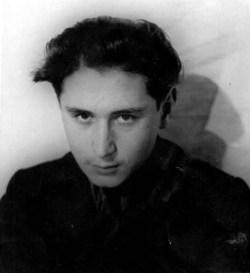 А.Е. Кибрик в молодости