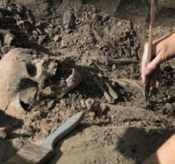 Фото с раскопок 2011 года