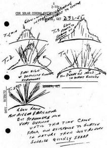 Зарисовки лунных рассветов, сделанных экипажем «Аполлона-17»