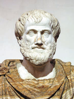 Бюст Аристотеля, римская копия оригинала Лисиппа. Ок. 330 года до н.э. (Википедия)