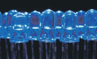 Голубые светодиоды. Фото: «Википедия»