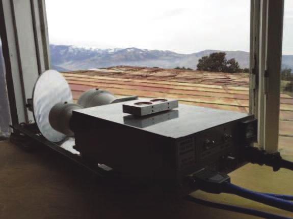 Аппаратура для исследования астроклимата  российского производства на РТ-70