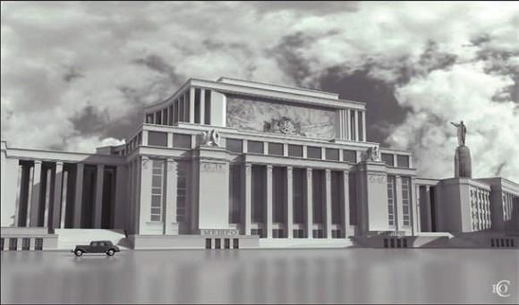 Проект А.Н. Душкина, соавторы В.С. Белявский и Н.С. Князев.  С сайта arch-heritage.livejournal.com