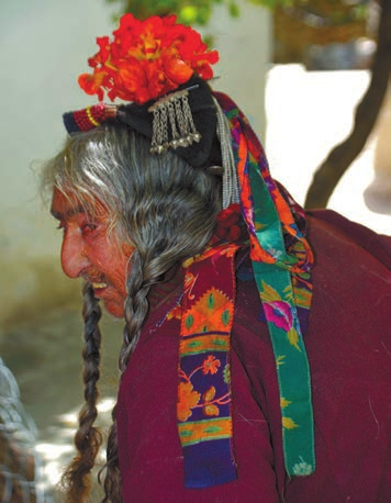 Головные украшения арианских женщин