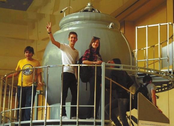 Экскурсия в Центр подготовки космонавтов им. Ю. А. Гагарина