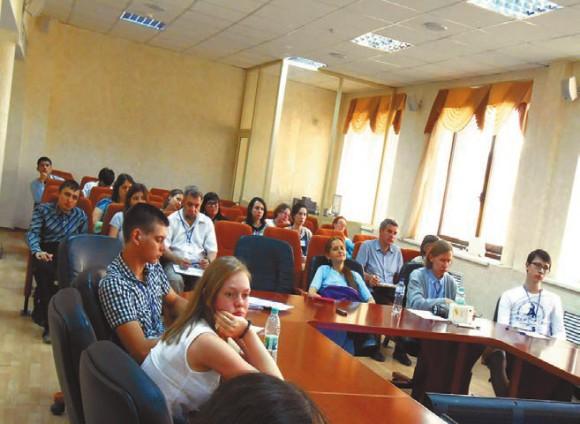 Заседание в Академии наук Республики Татарстан