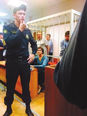 После оглашения приговора. Фото С. Немалевича
