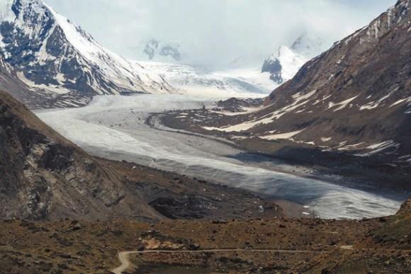 Ледник Drang Drung. 1 июня