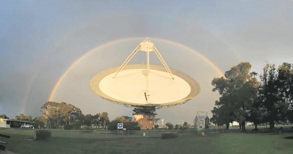 Фото Parkes Radio Telescope с сайта www.parkes.atnf.csiro.au