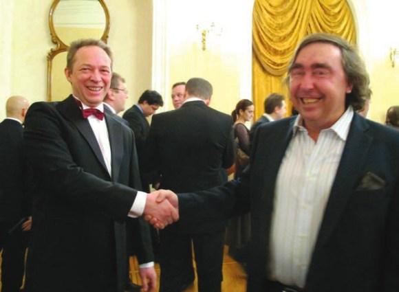Е. Быковский и А. Ростовцев. Фото Н. Деминой