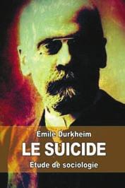 В 1897 году вышел классический труд Э. Дюркгейма «Самоубийство» (www.abebooks.com)