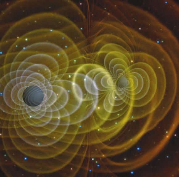 Одно из популярных графических представлений о черных дырах (NASA)