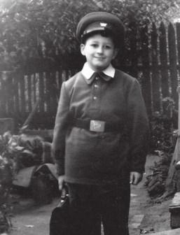 Будущий физик Михаил Шифман. Школа № 202, Москва. 1 сентября 1956 года