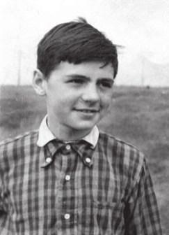 Будущий лингвист, академик РАН Андрей Зализняк. Тула, 1948 год