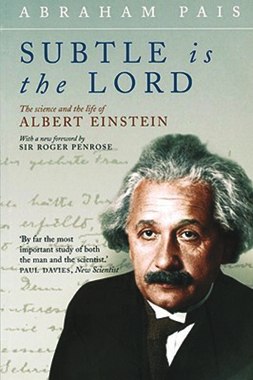 A. Einstein Subtle is the Lord