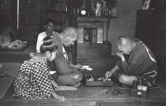 Японцы, играющие в сёги. Начало XX века. Фото Elstner Hilton с сайта www.flickr.com
