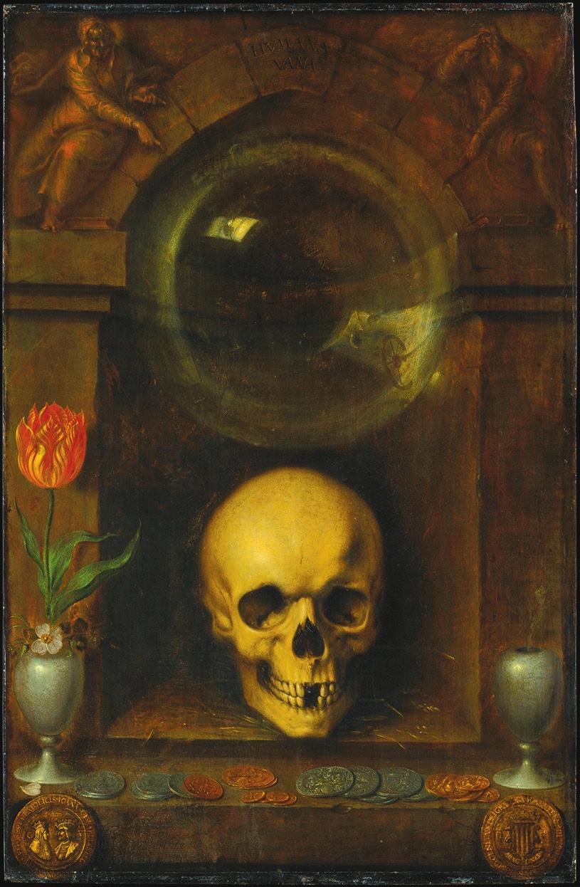 Якоб де Гейн. 1603. Vanité. Metropolitan Musem of Art, New York