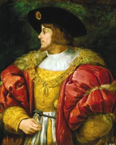 3. Тициан. Портрет короля Венгрии Людовика II (1526)