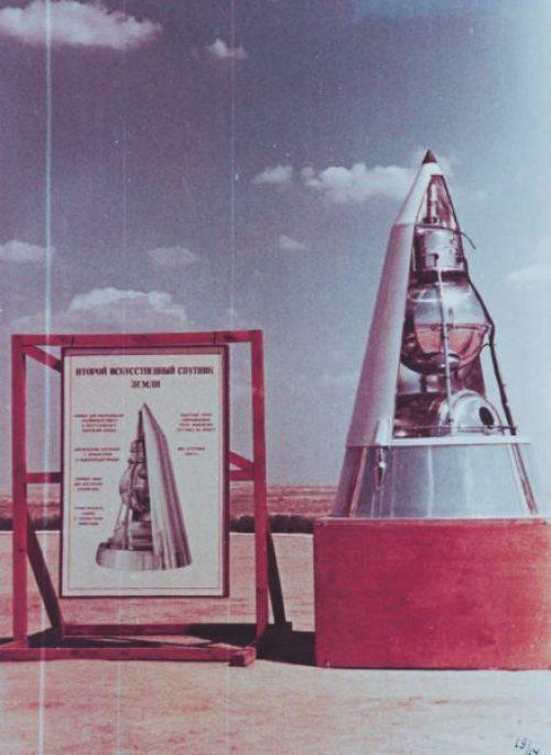 «Спутник-2» на испытательном полигоне Капустин Яр