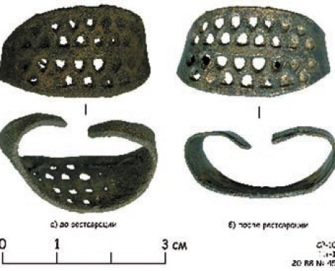 3. Перстень. Пятницкий раскоп. XII век