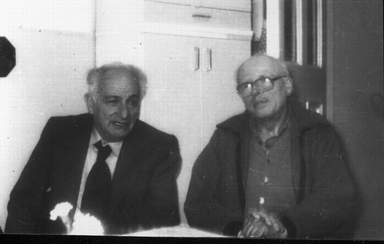 Л.В. Альтшулер и А.Д. Сахаров, Москва, 1987 год
