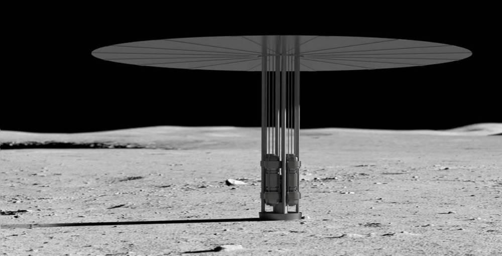Kilopower на Луне