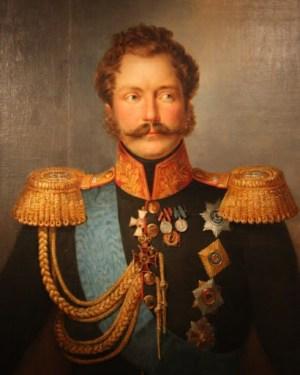 Ф. Крюгер. Портрет великого князя Михаила Павловича («рыжий Мишка»)
