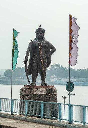 Статуя Бходжи Парамара в Бхопале, Индия. «Википедия»