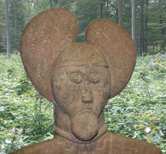 Кельтский князь из Глауберга (около 500 года до н. э.)