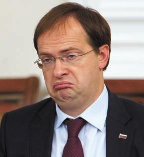 Министр Мединский расстроен многовековой клеветой иностранцев на нашу великую державу. Фото И. Соловья
