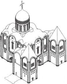 Пробная реконструкция Н.Н. Воронина