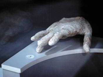 Фрагменты статуй Будды.I-II века. Археологический музей Термеза