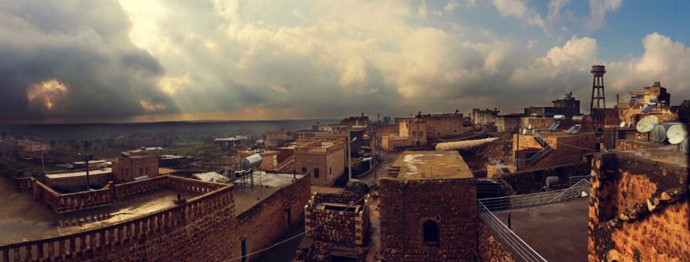Панорама города Мидьят